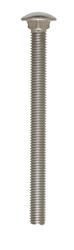 Hillman  1/2 in. Dia. x 6 in. L Stainless Steel  Carriage Bolt  25 pk