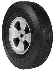Arnold  Wheelbarrow Tire  10 in. Dia. 175 lb. Butyl Rubber