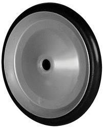 Arnold  Steel  Replacement Wheel  4.5 in. Dia. x 0.5 in. W 30 lb.