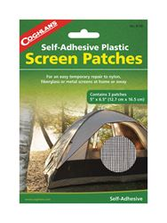 Coghlans  Tent Screen Patches  6-1/2 in. W x 5 in. L