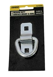 US Pro Grip  Zinc Plated  Medium Duty  Tie Down D-Ring  5000  Silver