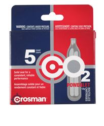 Crosman  CO2 Cartridge  5 pk