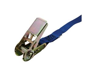 Pro Grip  Polyester  Ratchet Tie Down  12 ft. L 900  No Hooks  Blue