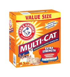 Arm & Hammer Multi Cat Litter 26.3 lbs.