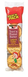 Keebler  Snack Pack  Toast and Peanut Butter  Crackers  1.8 oz. Pack