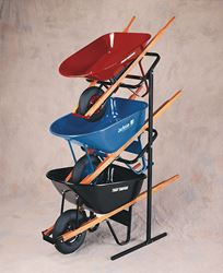 Ames True Temper Wheelbarrow Display Rack Wheelbarrow/Cart Metal