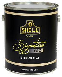 Shell Signature Pro Paint Interior Semi-Gloss White 5 Gallon