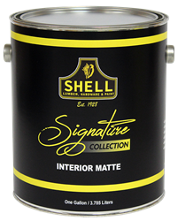Shell Signature Collection Paint Eggshell White 5 Gallon